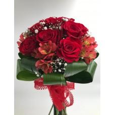 Buchet trandafiri Alstromelia