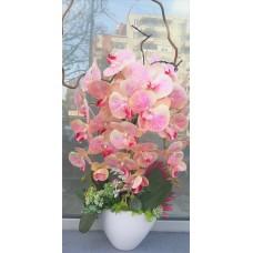 Orhidee artificiala roz pal