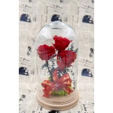 Trandafiri criogenati 3 fire